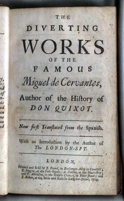 Works of Miguel de Cervantes